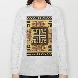 Southwest Shaman Tile Long Sleeve T-shirt