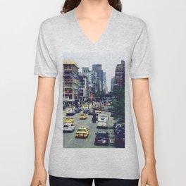 New York City Vibes Unisex V-Neck