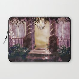 The Last House with Their Lights Up Laptop Sleeve