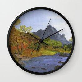 Watchman Mountain, UT Wall Clock