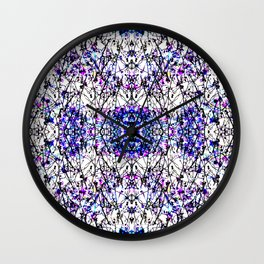Buds and Blooms Wall Clock