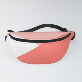 Coral Angles Fanny Pack