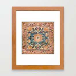 Amritsar Punjab North Indian Rug Print Framed Art Print
