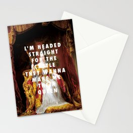 George Hayter, Coronation of Queen Victoria (1838) / Halsey, Castle (2015) Stationery Cards