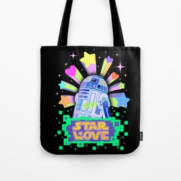 R2-D2 Star Love Tote Bag