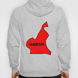 Cameroon Silhouette Map Hoody