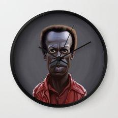 Celebrity Sunday ~ Miles Dewey Davis Wall Clock
