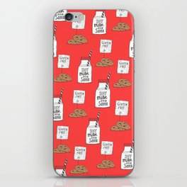 Gluten free Christmas iPhone Skin