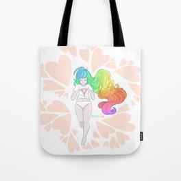 Rainbow Melt Tote Bag