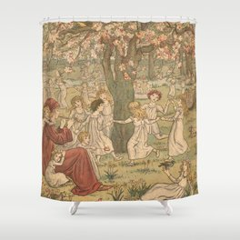The Pied Piper of Hamelin - Robert Browning Shower Curtain