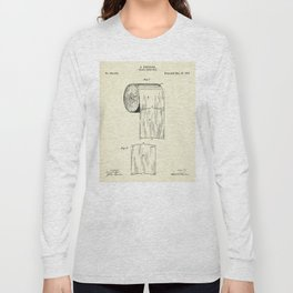 Toilet Paper Roll-1891 Long Sleeve T-shirt