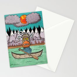 Beast Canoe Stationery Cards
