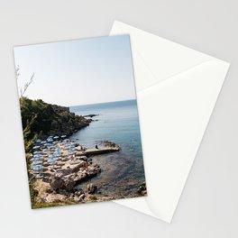 Mediterranean Summer in Greece Stationery Cards