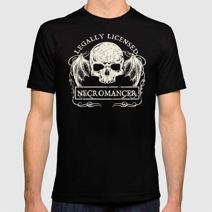 Legally Licensed Necromancer T-shirt