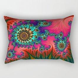 Eastern Love Fractal Art Rectangular Pillow