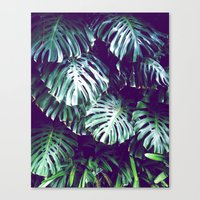 palms Canvas Prints featuring PALMS by Sorbetedelimon