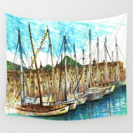 sicily port see Wall Tapestry