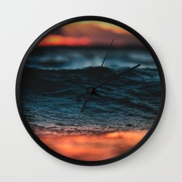 last light Wall Clock