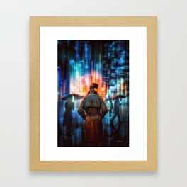 Blade Runner 2049 – The City (2017) Framed Art Print