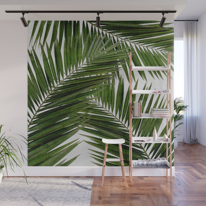 Palm Leaf III Wall Mural