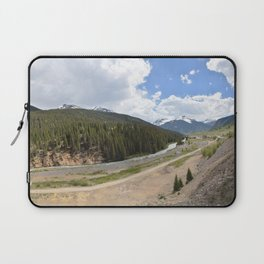 View toward Silverton from the Mouth of Arrastra Gulch Laptop Sleeve