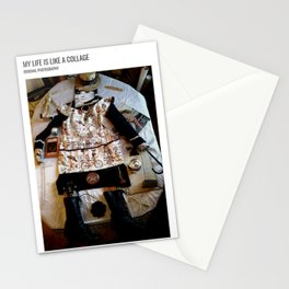 My Life Is Like A Collage / Art Stories Stationery Cards