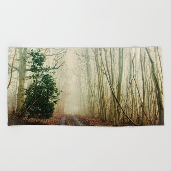 GHOST PATH Beach Towel