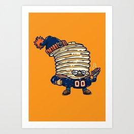 Da Pancakes Art Print