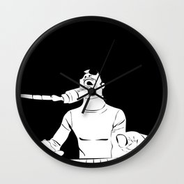 Feel the Music with Stevie Wonder Wall Clock