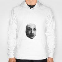 einstein Hoodies featuring Einstein by OK SO