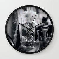 makeup Wall Clocks featuring makeup by Kayla Gomez