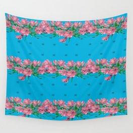 Pattren Flowers Wall Tapestry