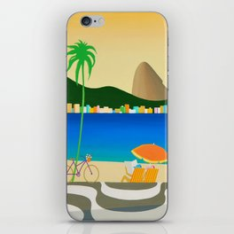 COPACABANA SIDEWALK iPhone Skin