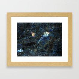 """Labradorite"" Framed Art Print"