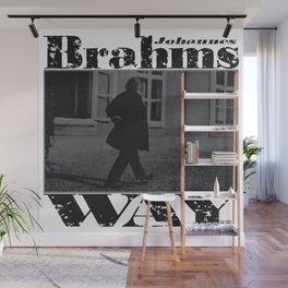 Brahms Way Wall Mural