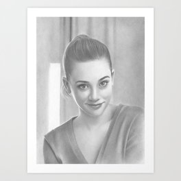 Betty Cooper Riverdale Art Print