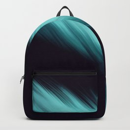 Blue Feather  Backpack