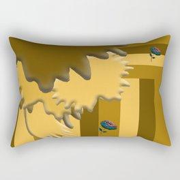 Shades of Brown 3 Rectangular Pillow