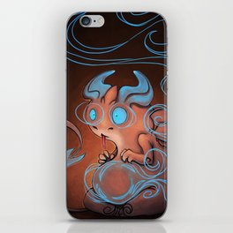 Blue dragon iPhone Skin