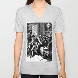 DEATH by ATTACK Unisex V-Neck