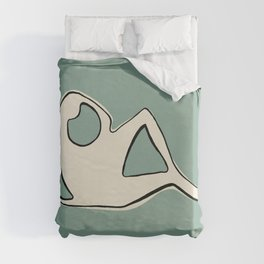 Poster-Henry Moore 1. Duvet Cover