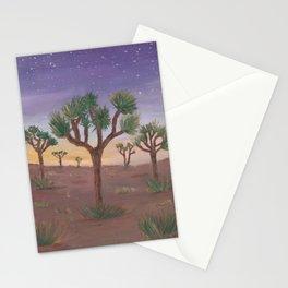 Joshua Trees at Sunset Stationery Cards