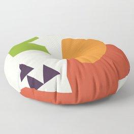 Abstract No.11 Floor Pillow
