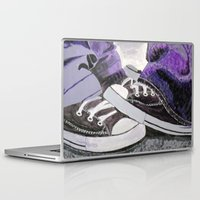 converse Laptop & iPad Skins featuring Converse by Leslie Creveling