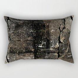 The Brown Stone Rectangular Pillow