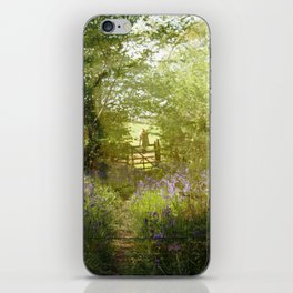bluebell meadows iPhone Skin