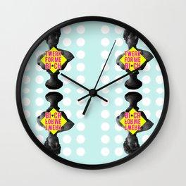 Twerk for me Wall Clock