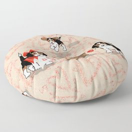 The Love Puppy — All My love Floor Pillow
