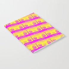 Boombox Pattern Notebook