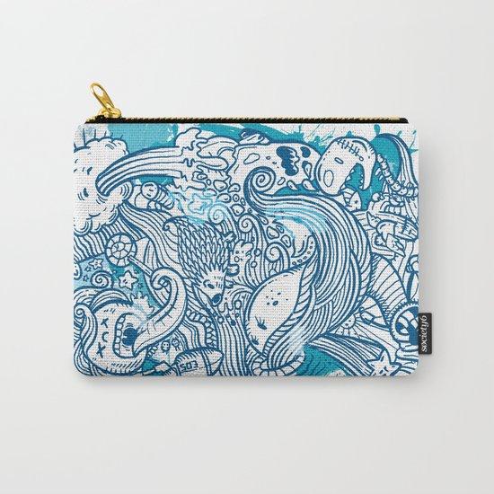 Random Doodle Carry-All Pouch
